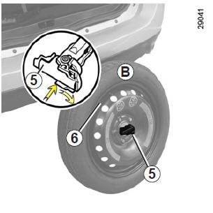notice d 39 utilisation renault scenic iii roue de secours conseils pratiques notice d. Black Bedroom Furniture Sets. Home Design Ideas